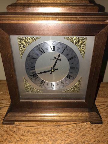 Bulova Table Clock