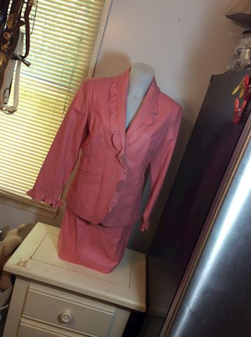New Terry Lewis ladies 2-3 piece Suede suits