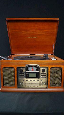 Item #71 Crosley Director Record Player