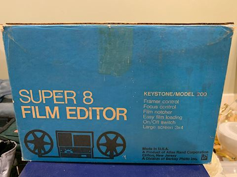 Camera/Film/Tripod/Super 8 Equipment