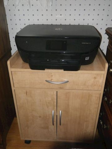 HP Printer and Stand