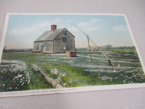 Jethro Coffin House 1686 Nantucket Mass Phostint