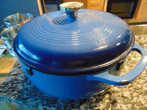 Lodge Enamel Cast Iron Dutch Oven