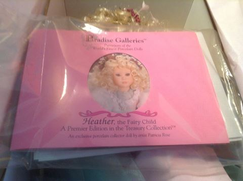 "Paradise Galleries  ""Heather the Fair Child"" NIB"