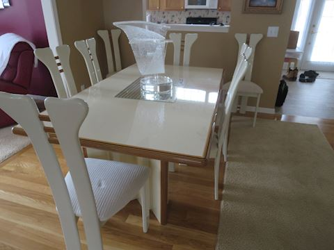ALF Italy  Contemporary Dining Room Table & Chairs