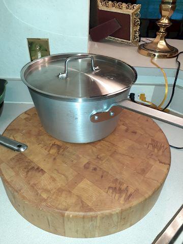 Aluminum Spun Stainless Stock Pot