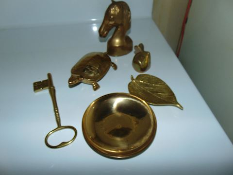Grouping of Indian Brass Accents