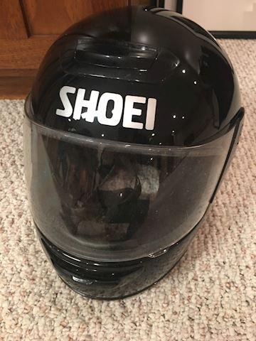 Shoei motorcyle helmet