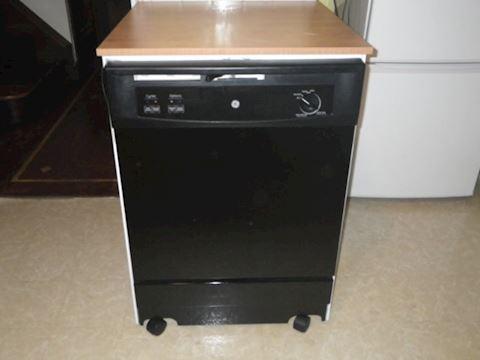 GE Rolling Dishwasher