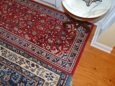 Two Capel Rugs.  Runner and area.