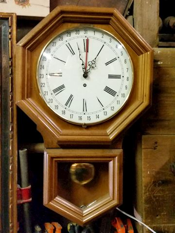 vintage mid century West Germany wall clock