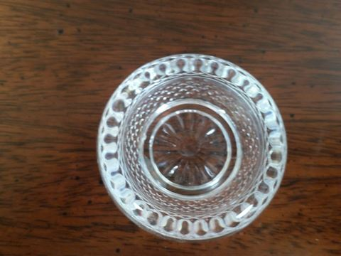 BACCARAT VINTAGE  BUCKINGHAM SALT CELLAR