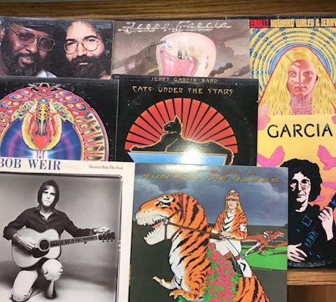 7 Jerry Garcia Albums
