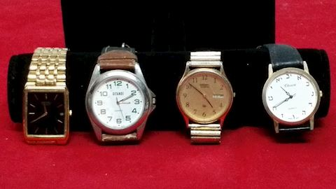 Watches- 4 Vintage Watches