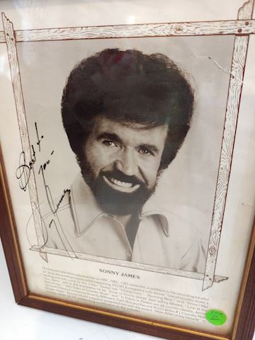 Sonny James Signed Photo