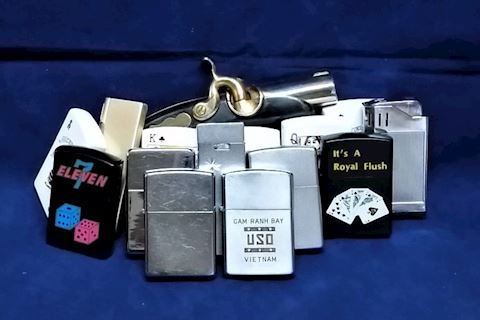 Assorted Zippo Style Lighters