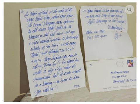 Country Music George Hamilton IV Handwritten Note