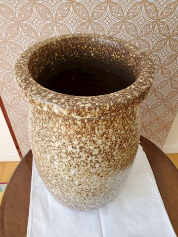 Large handmade pottery vase