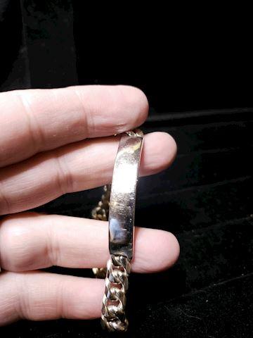 "8"" Tiffany ID Bracelet"