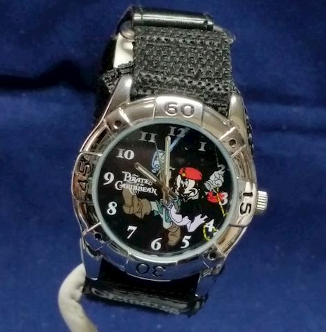 Vintage-Watch-Mickey Mouse, Pirates of Caribbean