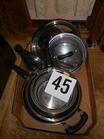 Lot #45 Kitchen post n pans