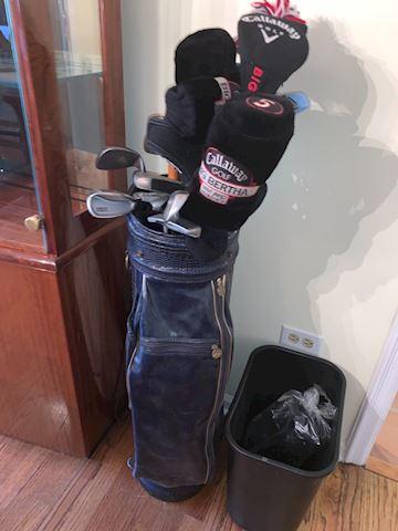 Mixed golf clubs