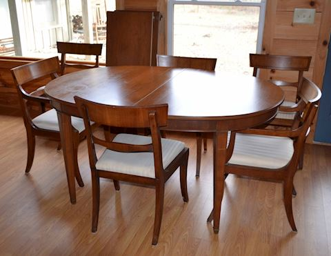 Mid-century Dining Room Table & Chairs