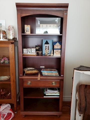 Broyhill Cabinet bookcase cupboard w drawer