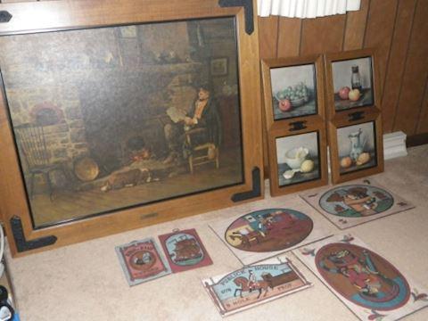 Group of Art (Family Room)