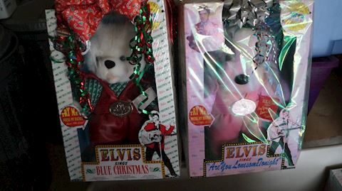 Lot #54 Taipow Elvis Presley Plushes in Box