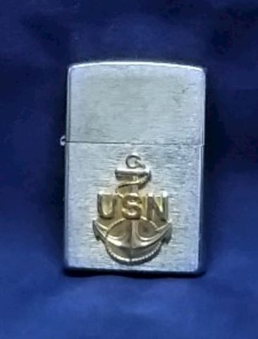 Zippo Lighter US Navy