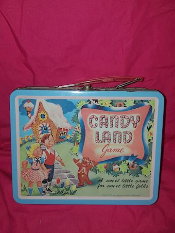 Candy Land lunch box 1998