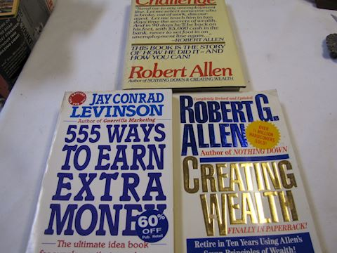 How-To-Books. Earn extra income, Building Wealth