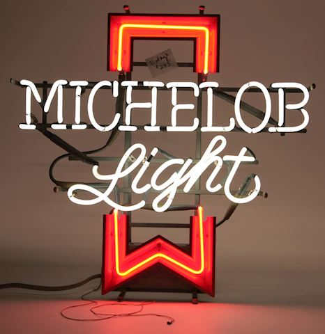 Vintage Michelob neon sign Works