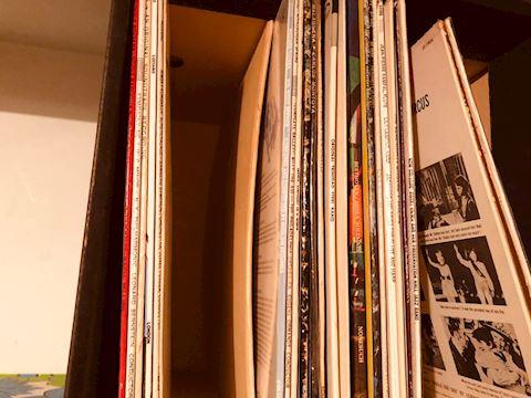 Assortment of Vintage Vinyl Records