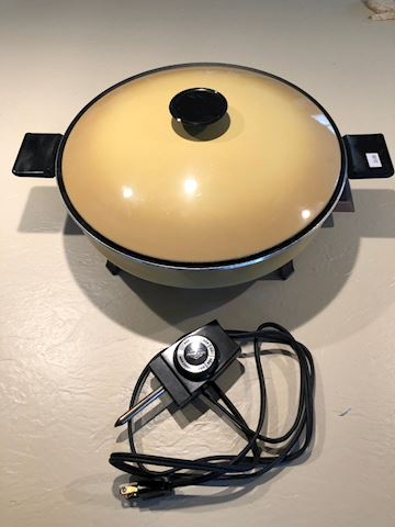 West Bend Electric Skillet
