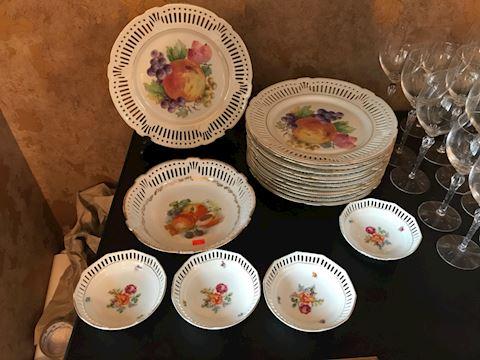 Porzellan fruits porcelain China