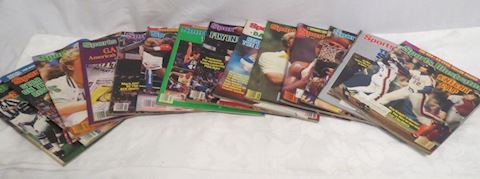 Sports Illustrated Lot of 14 Magazines Year 1986