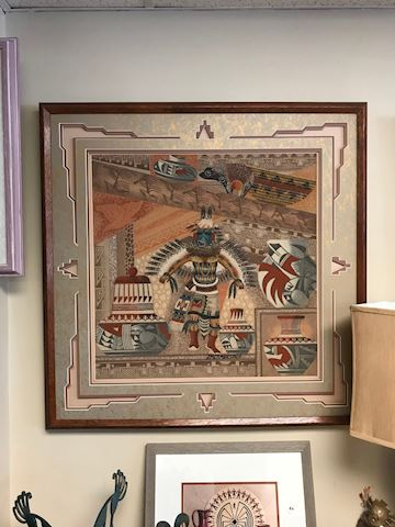 Navajo Original Sand Art - J M Cambridge