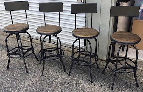 Bar Stools - Set of Four