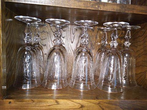 Single glass - WATERFORD CHARLEMONT ETCHED ICE TEA