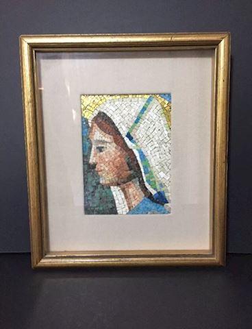 Framed Roberto M Anselmi Mosaic