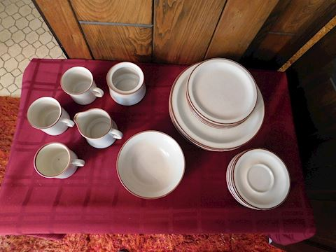 106 Dish Set By Grace Stoneware Japan