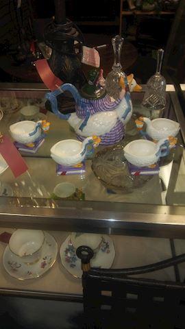 Mother Goose Tea Set - #3278