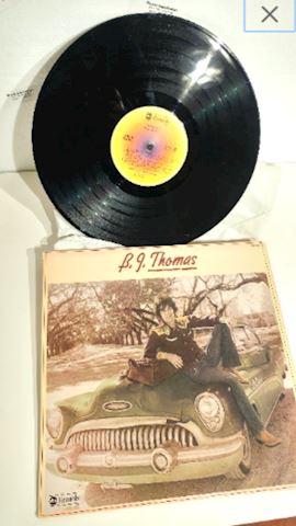Album Vinyl B.J. Thomas