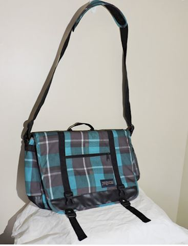 JANSPORT NETWORK MESSENGER LAPTOP BAG w/ STRAP