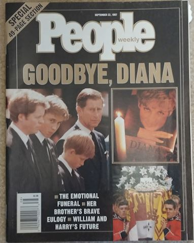People Magazine - Goodbye, Diana