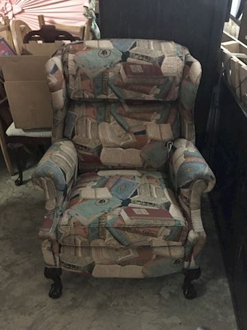 Hathcock and Moore Recliner