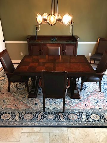 Nautical by Lexington furniture classic dining set