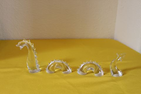 Baccarat Glass Loch Ness Monster Figurine